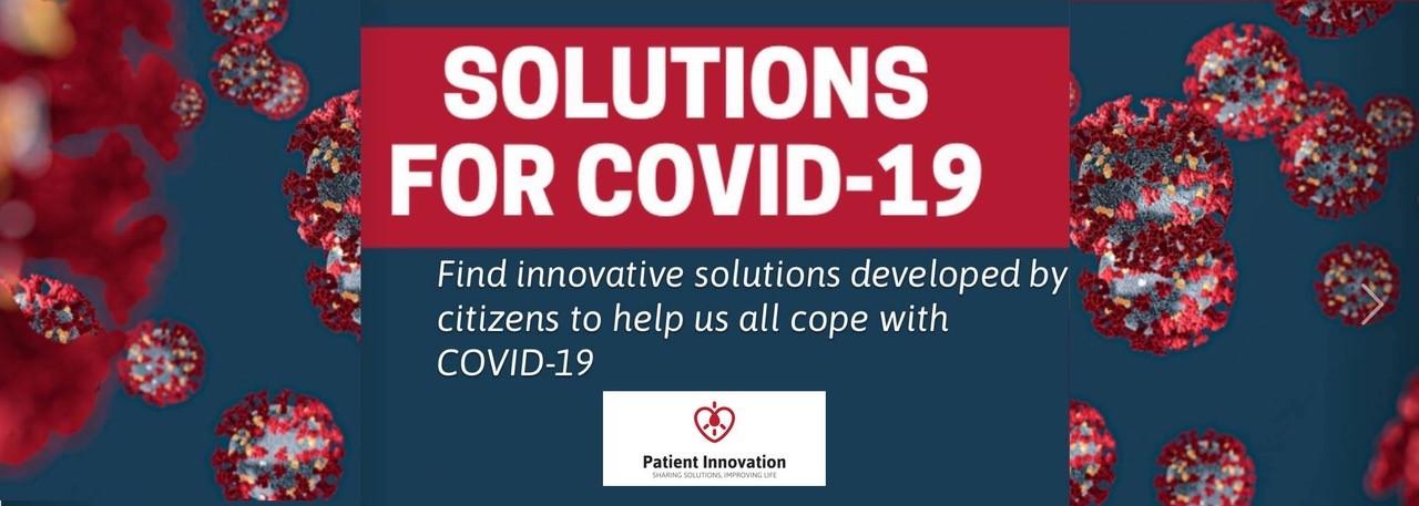 Soluções Patient Innovation para COVID-19