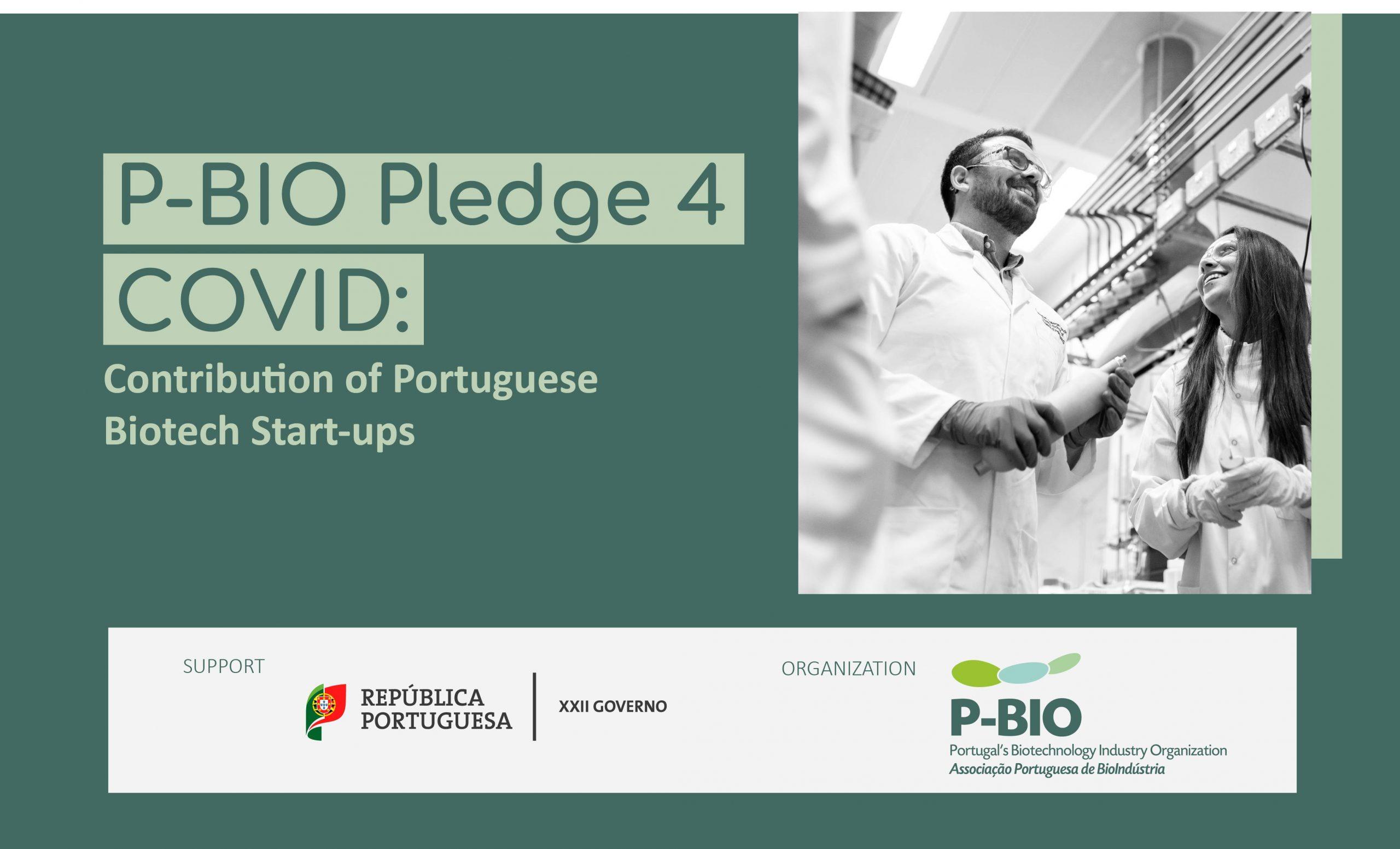 P-BIO Pledge 4 COVID – Contribuição das Bio Start-ups Portuguesas