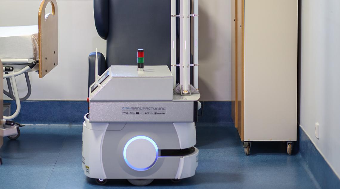 RADAR – Robô Autónomo para Desinfeção em Ambiente Hospitalar